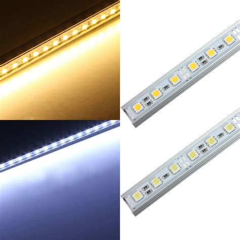 led light weight loss reviews 50cm 36 led 5050 smd hard strip light shell end fixture