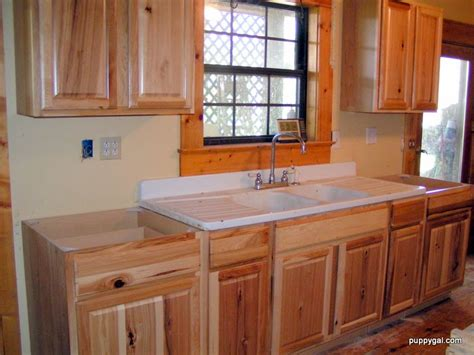 kitchen sink furniture hickory cabinents scott river custom cabinets rustic