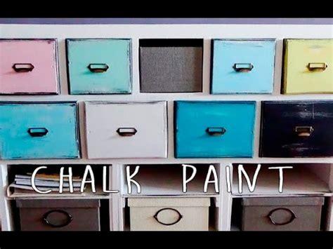 chalk paint muebles ikea pintar y decorar un mueble con pintura chalk paint efecto