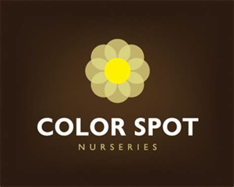 color spot nursery logopond logo brand identity inspiration color spot