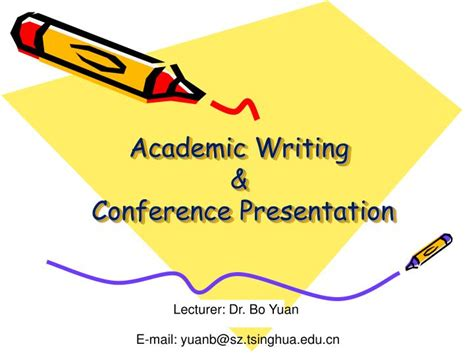 Ppt Academic Writing Conference Presentation Powerpoint Presentation Id 2443151 Academic Conference Presentation Template