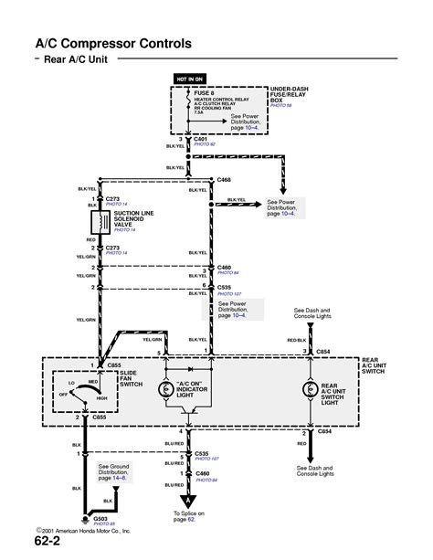 2005 accord a c wiring diagram a free printable