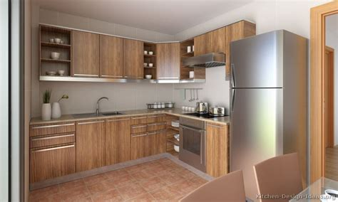 wooden kitchen design pictures of kitchens modern medium wood kitchen