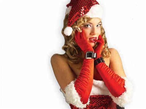 pk hot girl beautiful christmas santa babes