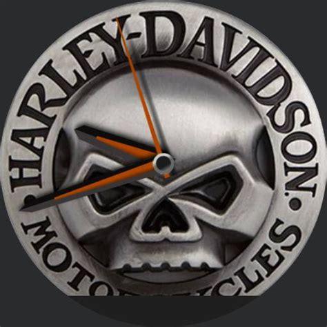 Harley Davidson Grey harley davidson grey skull watchfaces for smart watches