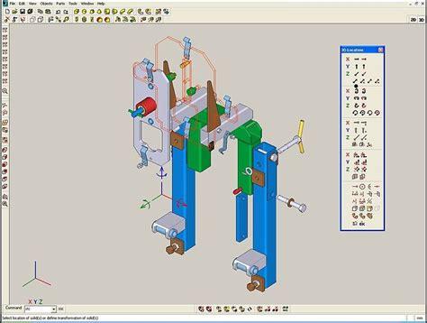 mechanistic design adalah artikel 8 aplikasi cad yang berjalan baik di linux