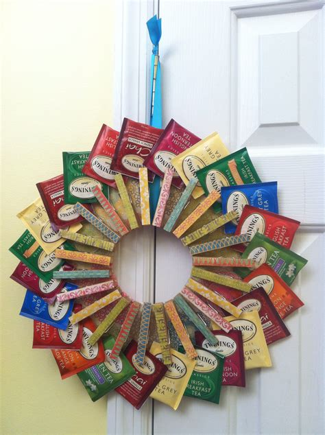 tea crafts for tea bag wreath it was to make things i ve made