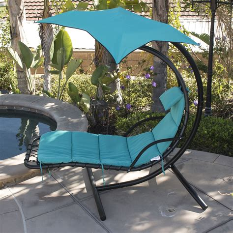 hanging chaise lounge chair hanging chaise lounge chair hammock swing canopy glider