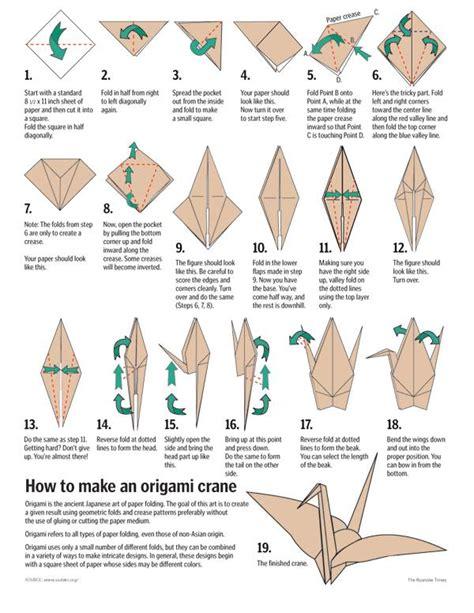 cara buat origami burung kertas cara membuat origami burung bangau dari kertas