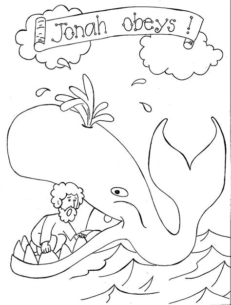 humongous whale coloring page 154 best images about jonah and the whale on pinterest