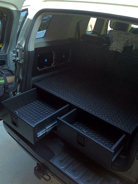 new jeep accessories rear cargo drawer build toyota fj