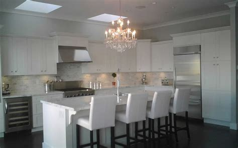chandeliers kitchen friday five white cabana page 3