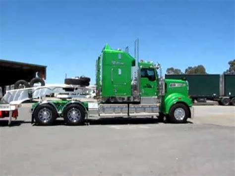 kenworth t906 wa low loaders magnificent kenworth t908 at the bp