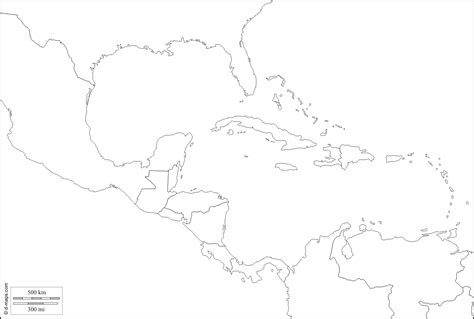 map outline of central america blank map of central america grahamdennis me