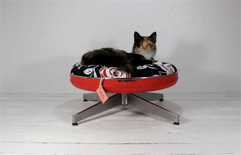 upcycled cat bed upcycled vintage gear the ultimate pet bed upgrade bit