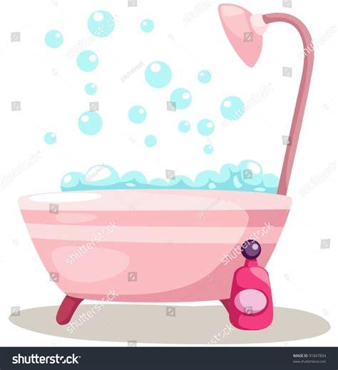 bathtub illustration illustration isolated bathtub on white background stock