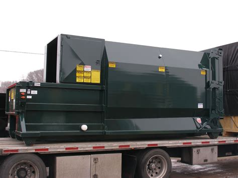 how does a commercial trash compactor work wet trash compactors for commercial industrial use nedland