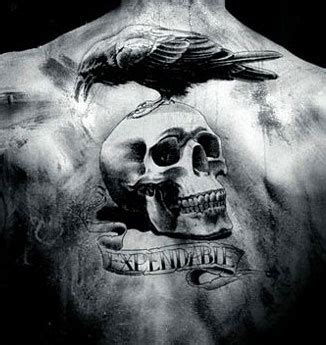 expendables tattoo memorable tattoos zone a