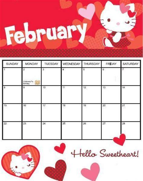 Calendario Febrero 2010 Chon Calendario Febrero 2009
