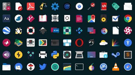 x theme list of icons flat remix si aggiorna nuovo tema per la vostra distro