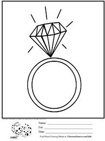 coloring pages jewelry coloring page ring jewelry it s time