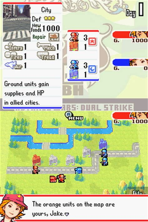 emuparadise advance wars advance wars dual strike u lube rom