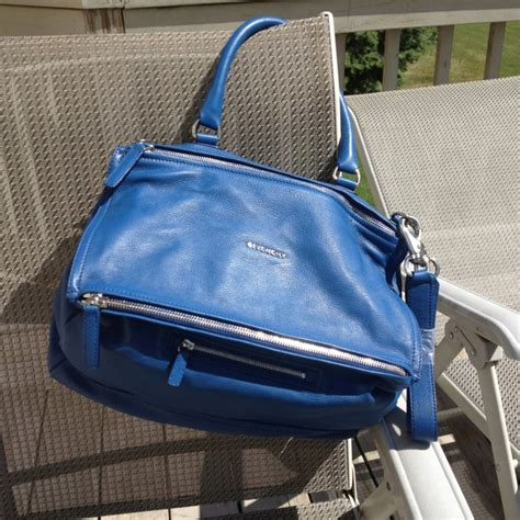Bag Givenchy 8041 Sale my new cobalt blue givenchy pandora bag thanks barneys designer sale handbags i crave