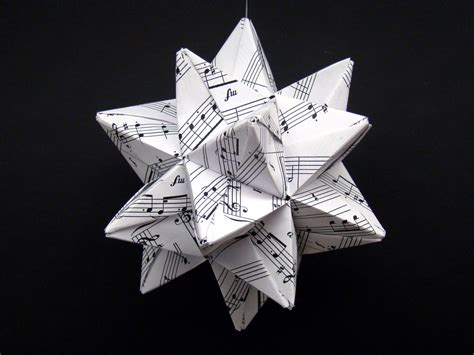 origami song modular origami recycled sheet by