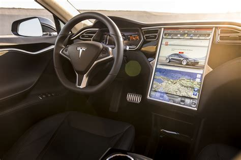 Tesla S Model Interior by 2015 Tesla Model S P85d Interior Photo 16