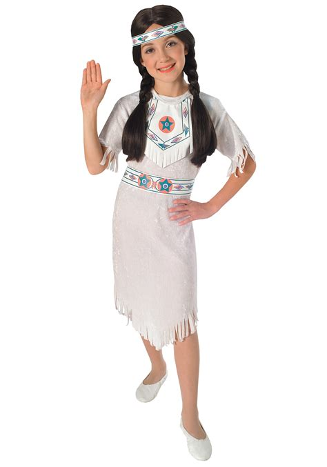 Girls Native American Princess Costume American Princess