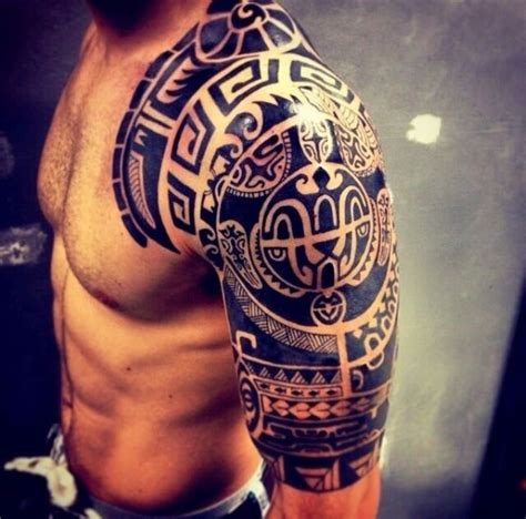 tattoo tribal designs on shoulder top 50 best shoulder tattoos for men next luxury