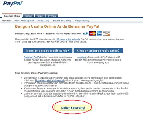 buat kartu kredit online cara daftar paypal tanpa kartu kredit mudah dan gratis