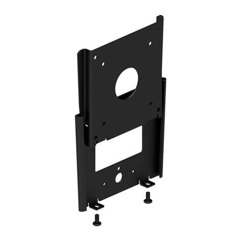 vesa mount for glass fixed vesa 100 75 compatible slim wall mount