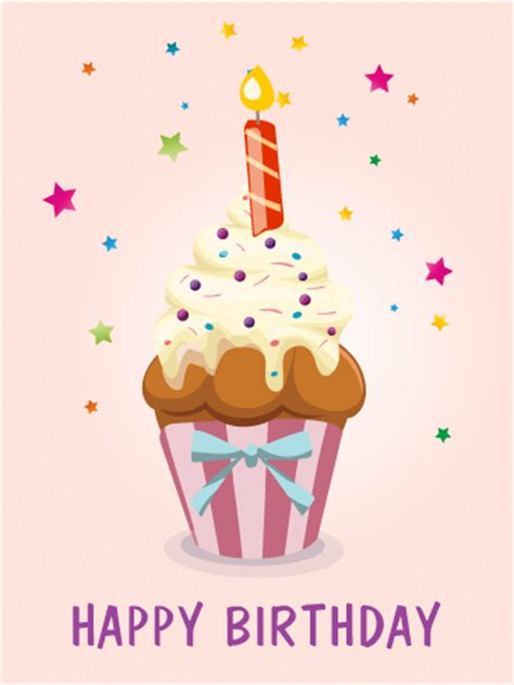 Birthday Card Cupcake Birthday Cards For Her Birthday Greeting Cards By