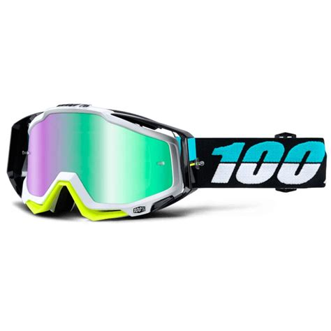 100 percent motocross goggles 100 racecraft st barth goggles grips bikes