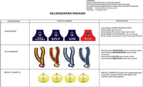 kemenkumham ntb 2012 seragam pemasyarakatan kemenkumham