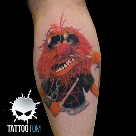 tattoo animal muppets portfolio tom the rising tide
