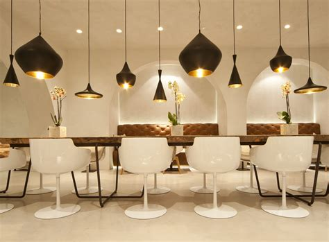 salci arreda flow slim saffron restaurant arezzo italy architect