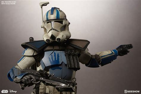 x clones wars arc clone trooper echo phase ii armor sixth