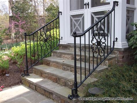 wrought iron front porch railings boston ma custom wrought iron railings raleigh wrought