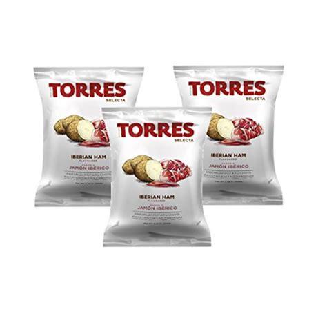 Torres Olive Potato Chip 50g Keripik Kentang patatas fritas torres black truffle premium potato chips 5 x 1 41 ounce