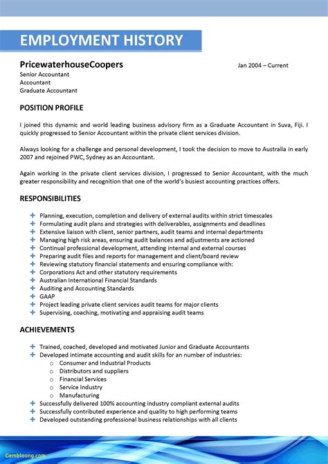 best of resume template builder free best templates