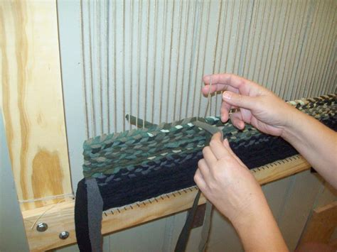 how to make a rag rug loom twined rag rug loom best decor things