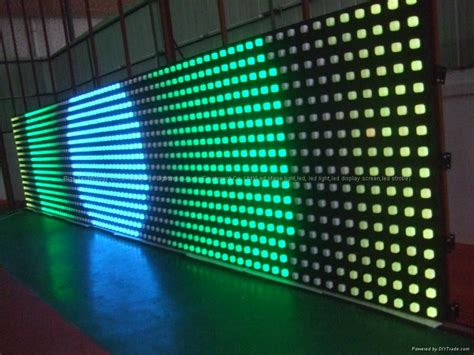 led wall curtain led digital curtain wall 56 inch p100 led curtain wall