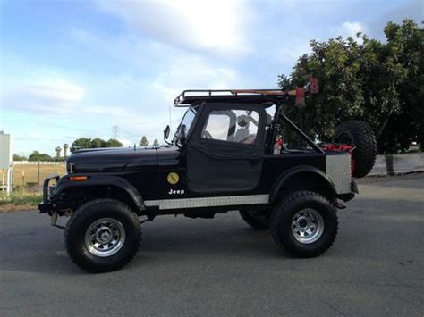 Used Jeeps In California Sell Used 1986 Jeep Cj7 In Winters California United States