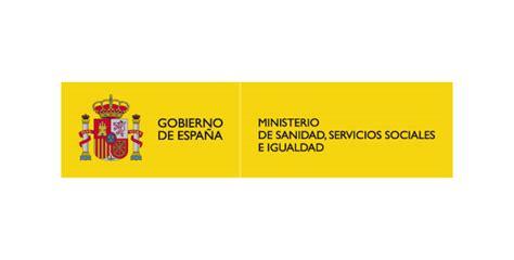 ministerio de sanidad servicios sociales e igualdad logo vector ministerio de sanidad servicios sociales e
