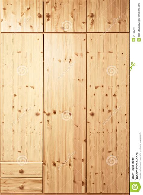Closed Cupboard Closed Wooden Cabinet Royalty Free Stock Photos Image
