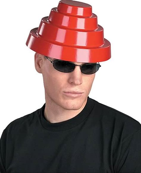 How To Make A Devo Hat Out Of Paper - devo energy dome hat replica disguise devo