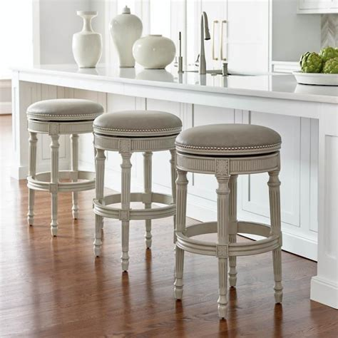 Counter Height Backless Swivel Bar Stools by Chapman Swivel Backless Bar And Counter Stools Frontgate