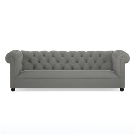 velvet chesterfield sofa prices glam velvet chesterfield sofas you ll in every color